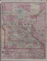 Cram's railroad & township map of Minnesota.