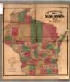 Rail road and sectional map of Wisconsin