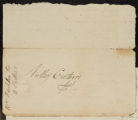 Letter to Thomas Stewardson relating to the sale of lands in Allegany.