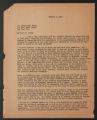 Related Organizations, 1925-1949. Inter-Community Child Study Committee. Committee Correspondence. Correspondence. (Box 40, Folder 422)