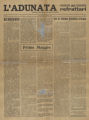 L'Adunata dei Refrattari, Volume 1 Number 2