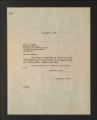 Correspondence: Speaking engagements, January - October 1945. (Box 2, Folder 14)
