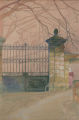 Gate at Saint-Émilion, France