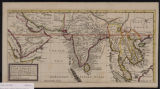 A map of the continent of the East-Indies etc : containing the territories, settlements and factories of the Europeans, explaining what belongs to England, France, Holland, Denmark, Portugal, etc.