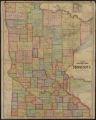 Cram's superior map of Minnesota