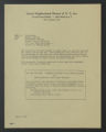 Administration, 1898-1990. Committees, 1919-1972. Headworkers' Committee. Committee on Negro Rights, Meeting Notes by Saul Goldzweig, 1963. (Box 13, Folder 9)