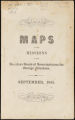 Maps of the missions of the American Board of Commissioners for Foreign Missions. September, 1851.