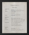 Organization files, 1967-1970. (Box 609, Folder 3)