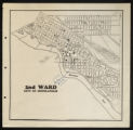 2nd Ward City of Minneapolis map, undated