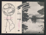 Burntside Lodge, with map, Ely, Minnesota