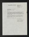 Background Information. Researcher correspondence, 1972-1976. (Box 1, Folder 6)