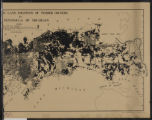 Location of large land holdings of timber owners in Upper Peninsula of Michigan