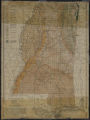 A provisional geologic and topographic map of Mississippi