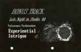 Bonus Track Late in Studio 6A Flyer
