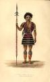 Angamee Naga Warrior.