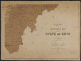 Geological map of the state of Ohio