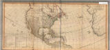 A new map of the whole continent of America : divided into North and South and West Indies wherein are exactly described the United States of North America as well as the several European possessions according to the preliminaries of peace signed at Versailles Jan. 20, 1783