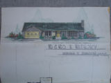Architectural Drawing of the Wilensky Residence