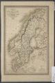 Carte du royaume de Suède : comprenant la Suède propre et la Norwège et du Ronanne de Danemarck